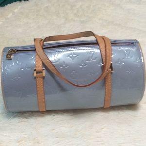 Louis Vuitton blue Vernis Bedford bag